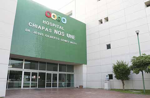 Red Hospitalaria de Chiapas con Capacidad Para Atender Pacientes con Dengue
