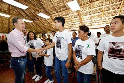 Reconoce Velasco a Ángeles que Donaron sus Órganos Para Salvar Vidas