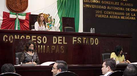 En Chiapas Prevalece el Respeto a la Paridad de Género: Congreso Del Estado