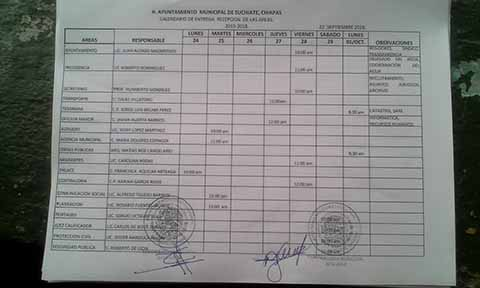 Matilde Espinosa Pretende Entregar Saqueado y Endeudado el Ayuntamiento de Suchiate