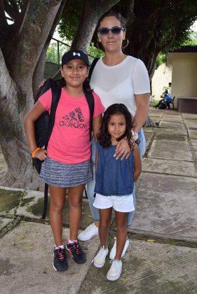 Fátima Trinidad, Fernanda Trinidad, Liliana Domínguez.