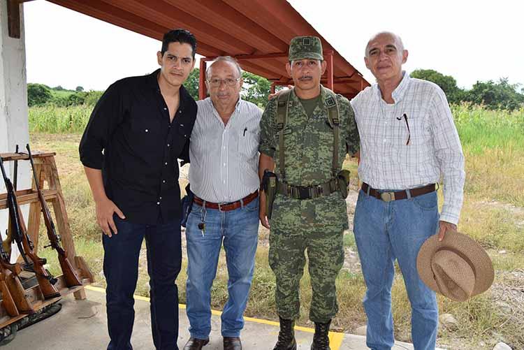 Rafael Galaz, Wilder Martínez, Gonzalo Nolasco, Manuel Montes.