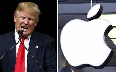 Trump Pide a Apple Producir en EU y Dejar de Hacerlo en China
