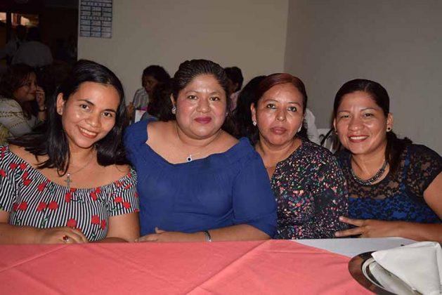 Rosalinda Trujillo, Concepción Arreola, Manuelita Ramírez, Josefina Toledo.