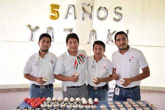 """""""Yazaki"""" Celebra 5 Años en Tapachula"""