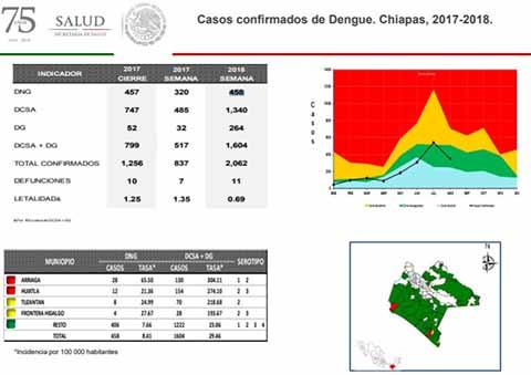 Muere 15ª Víctima del Dengue Reportan 2 mil Personas Infectadas