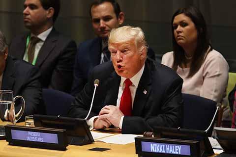 Trump Llama a Desmantelar Producción de Drogas