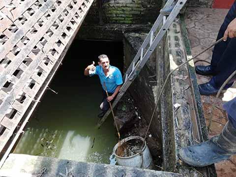 Desazolvan Drenes Debido a las Inundaciones en Huixtla