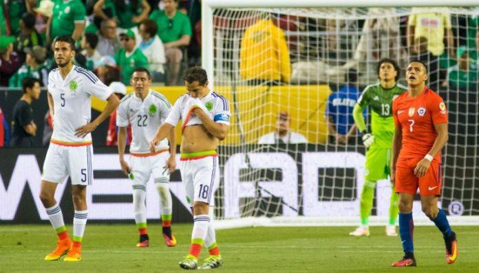 Chile Derrota a México 1-0