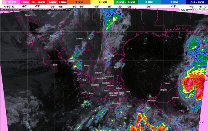 Se Prevén Tormentas Intensas en Chiapas y Quintana Roo
