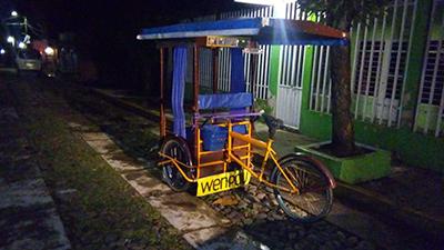 Abandonan Marihuana en un Triciclo