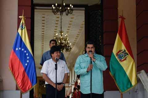 Nicolás Maduro y Evo Morales Acudirán a Toma de Protesta de López Obrador