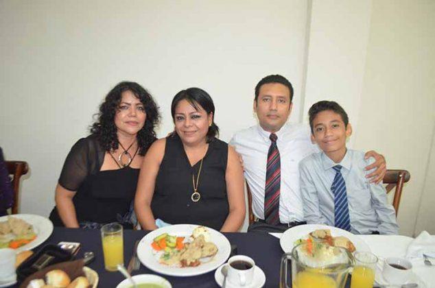 Familia Franco Urbina.