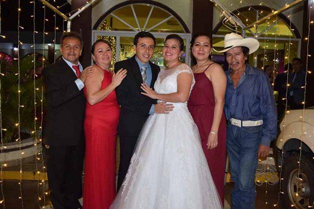 Porfirio González, Areli Ancheyta, Luis, Liliana, Erika Ochoa, Heron Ochoa.