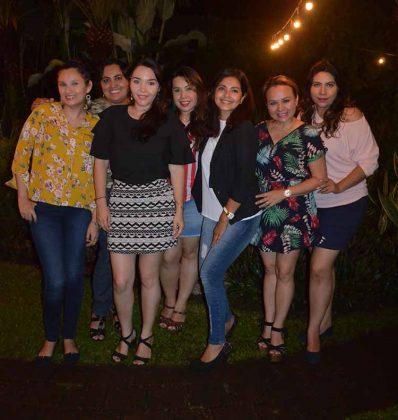 La foto con las mejores amigas.