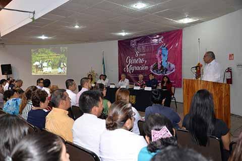 Realizó UNACH el 8° Congreso de Género y Migración