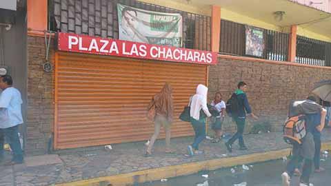 Comerciante Reportan Pérdidas por Presencia de la Caravana Migrante