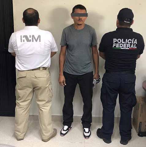 INM y PF Identifican a dos Hondureños de la Caravana Migrantes. Tenían Ordenes de Captura