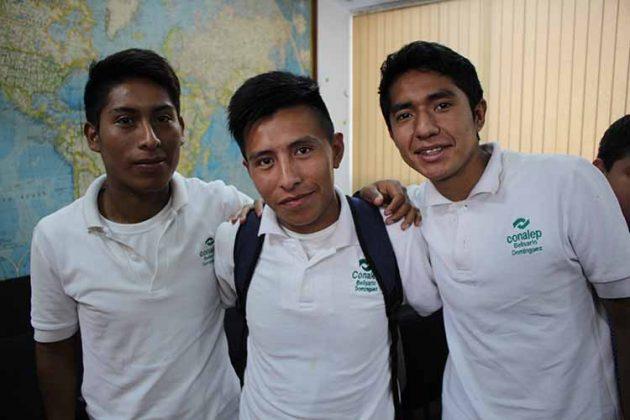 José Soto, Jan González, Fredi Pérez.