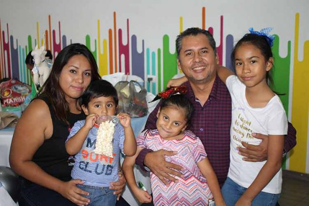 Familia Javalois Villalobos.