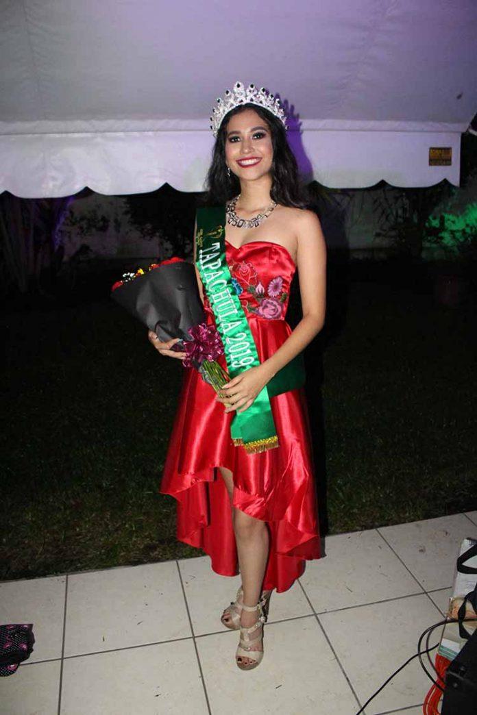 Andrea Morales. Miss Eart Tapachula 2019.