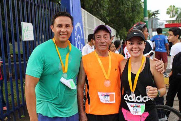Manuel Rueda, Alfredo Salgado, Silvia Cervantes.