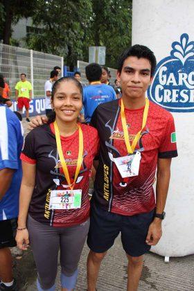 Claudia Hernández, Luis Alonso.