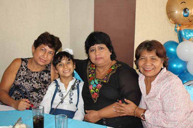 Tere Gerardo, Mariana Zetina, Rosario, Amaida López.