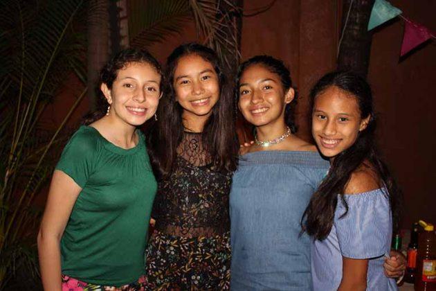 Valentina Soto, Isabella González, Haim Islas, Ana Karen Soto.