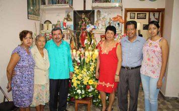 Familia Camposeco García.