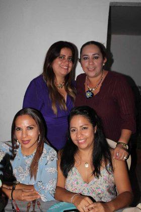 Kena Ramírez, Maru Avendaño, Gisela, Caro Avendaño.