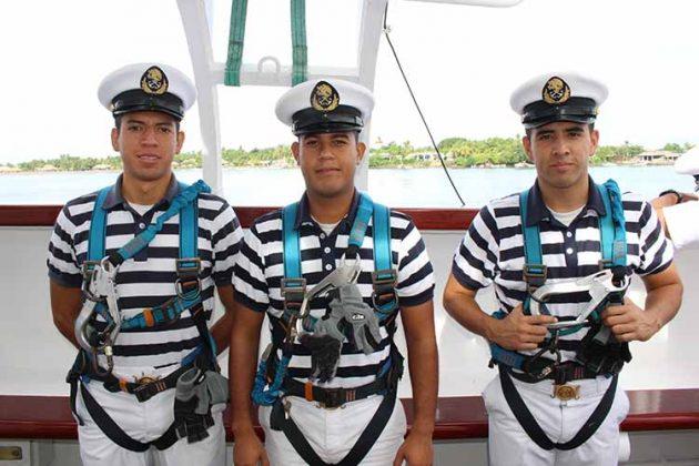 Gildardo Miranda, Augusto Robles, Brandon Silva.