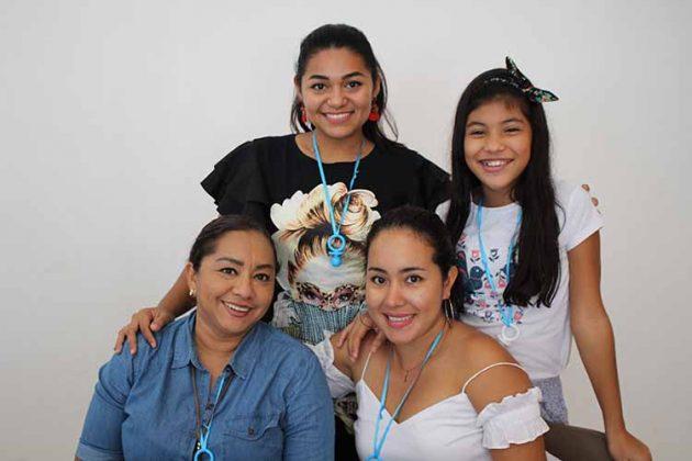 Marcela Carbajal, Ana García, Paola Soto, Beany Lozano.