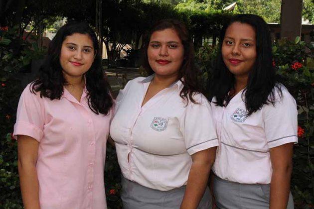 Ingrid Ocaña, Reyna Núñez, Mónica Avendaño.