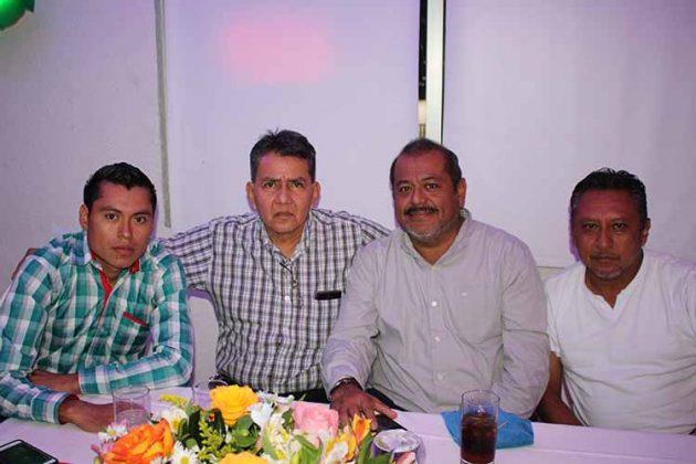 Jorge Martínez, Manuel Ramos, David Mijangos, Ángel Salas.