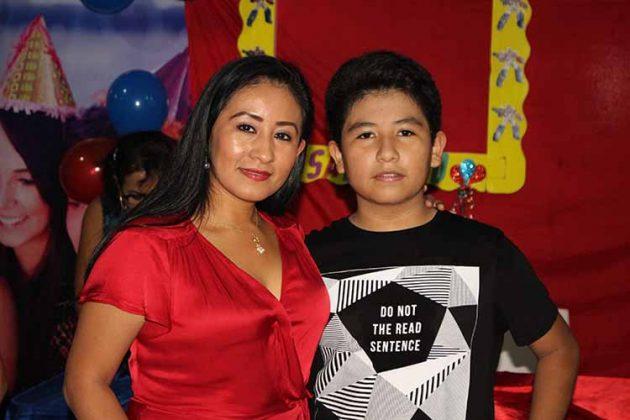Karina Rojas, Setgio Contreras.