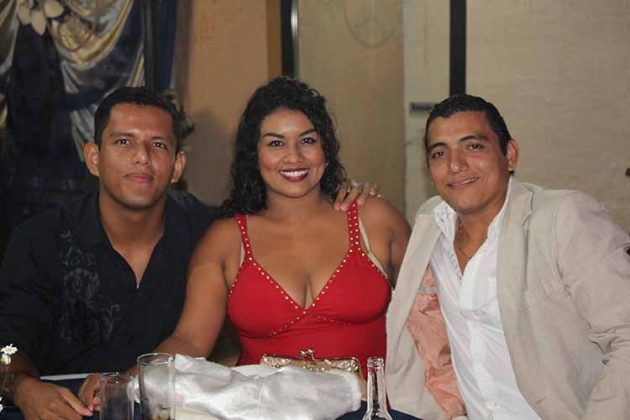 Higinio, lupita Silva, Iván Hernández.