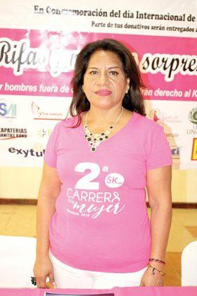 Martha Patricia de la Cruz, presidenta de la Asociación de Mujeres Empresarias, Capitulo Tapachula.