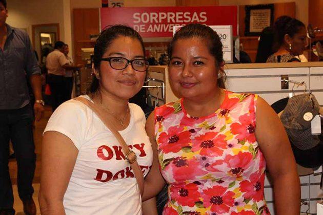 Alejandra Maldonado, Xiomara Méndez.