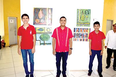 Gerardo Ramírez, Alejandro Gutiérrez, Víctor García.