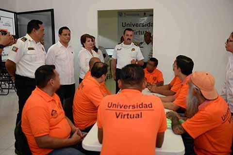 UNACH Imparte Educación a Distancia en Centro Federal de Reinserción Social