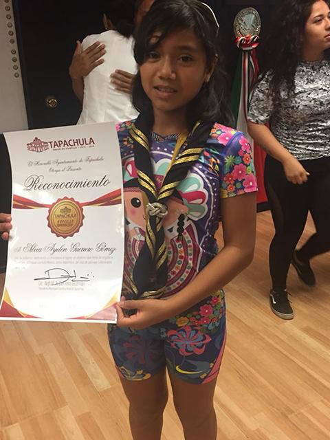 Silvia Ayelen Guerrero Recibe el Premio Municipal del Deporte