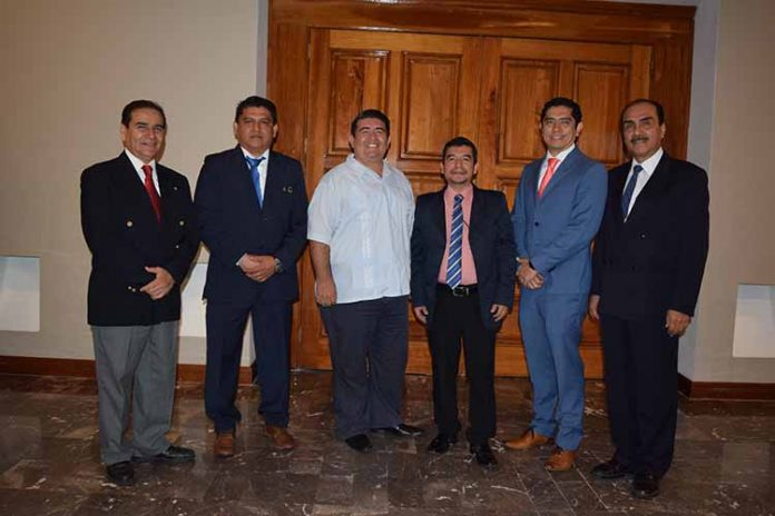 César Nolasco, Orlando Méndez, Mario Blas, Jorge Mijangos, Ricardo Méndez Lau, Josean Nolasco.