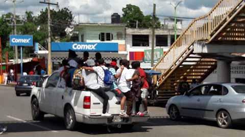 Secretaría de Salud mantiene atención a caravana migrante
