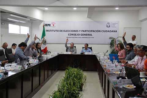 Aprueba IEPC Convocatoria y Calendario Para Elecciones Extraordinarias