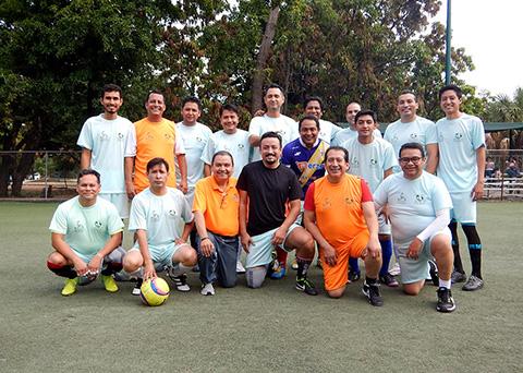 Celebran los XI Juegos Deportivos por el Día del Trabajador de la Salud