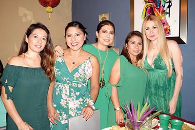Jeanette Tolentino, Albi Betanzos, Celene Sánchez, Emma López, Maruka Pundt.