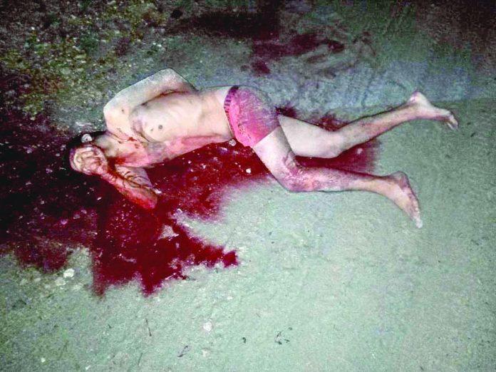 Asesinado a Machetazos en la Carretera
