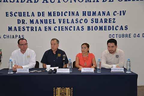 Extiende UNACH Fecha Para Interesados a Ingresar a la Maestría en Ciencias Biomédicas