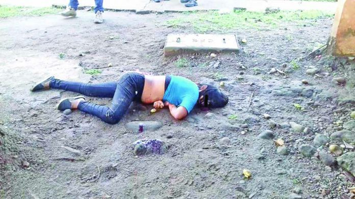 Asesinan a Mujer en la Calle